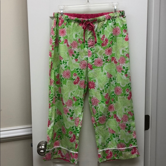 Lilly Pulitzer Other - Lily Pulitzer Pajama pants (cropped)